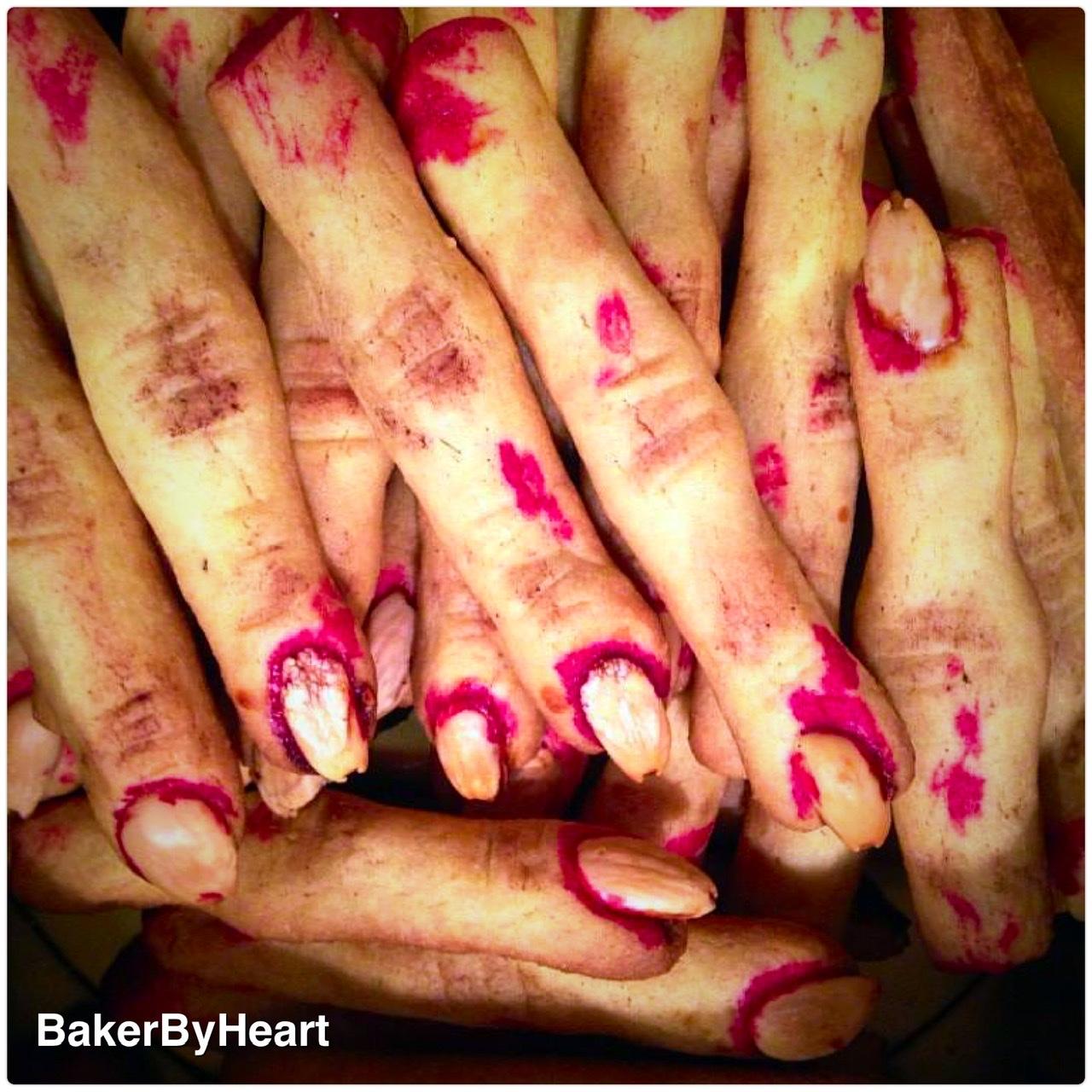 Klamme fingre