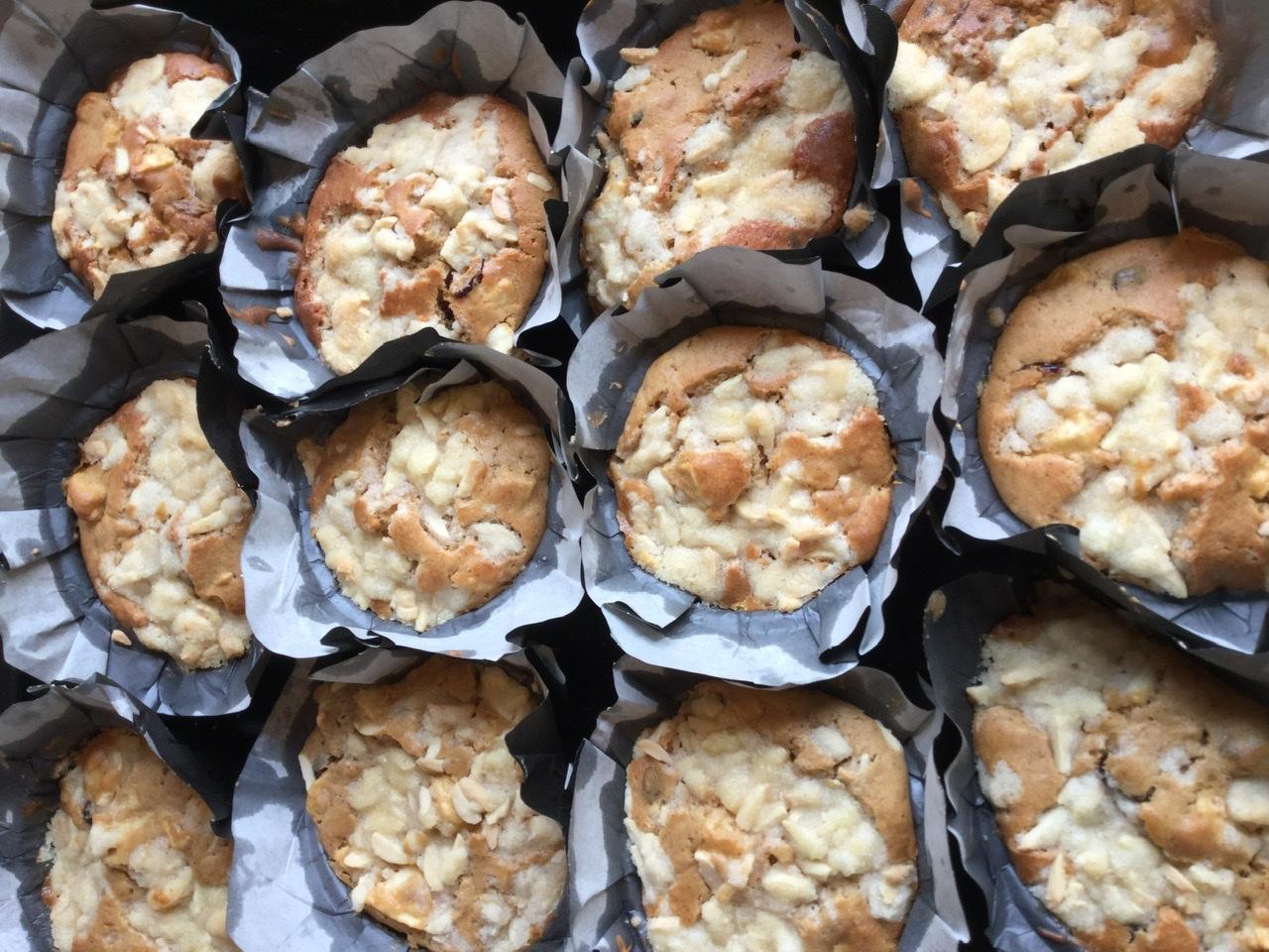 Æblecupcakes